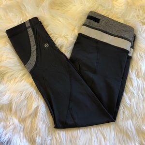 Lululemon • Gray Cropped Leggings